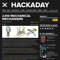 2,100 Mechanical Mechanisms