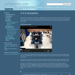 2-3-2 Actuation - curiousmarc.com