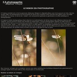 2.8 photographie bokeh