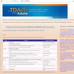 2 - Actualités sur le TDA/H Adulte