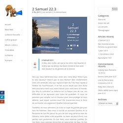2 Samuel 22.3