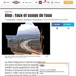 Alep: faux et usage de faux