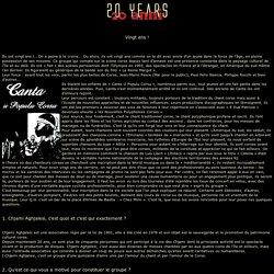20 anni - 20 years
