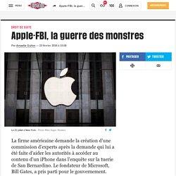Apple-FBI, la guerre des monstres