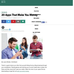 20 Apps That Make You Money
