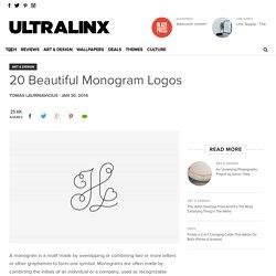20 Beautiful Monogram Logos - UltraLinx