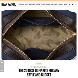 20 Best Dopp Kits for Men
