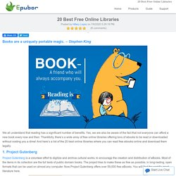 20 Best Free Online Libraries