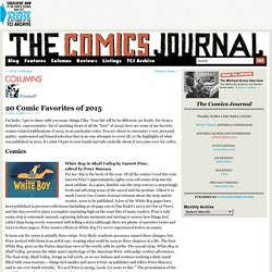 20 Comic Favorites of 2015
