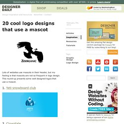 20 cool logo designs that use a mascot