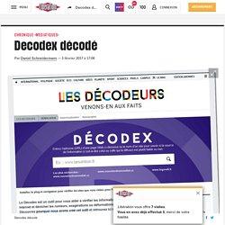 (20+) Decodex décodé