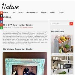 20+ DIY Key Holder Ideas