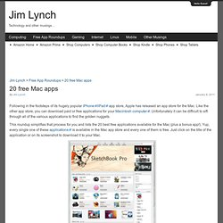 Jim Lynch: Technology and Other Musings