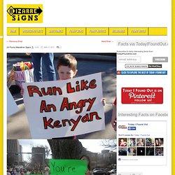 20 Funny Marathon Signs