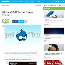 Top Parallax Drupal Template