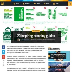 20 inspiring branding guides