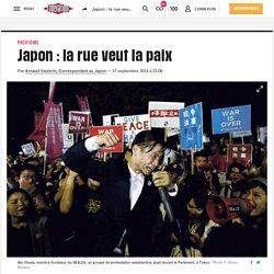 Japon: la rue veut la paix