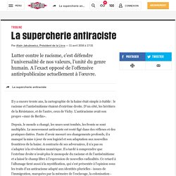 (20) La supercherie antiraciste