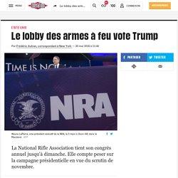 Le lobby des armes à feu vote Trump