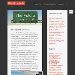20 métiers du futur