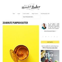 20-Minute Pumpkin Butter