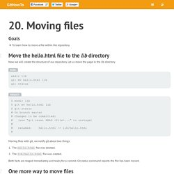 20. Moving files