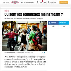 Où sont les féministes mainstream?
