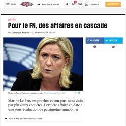 (20+) Pour le FN, des affaires en cascade