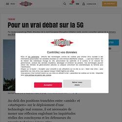 Pour un vrai débat sur la 5G (Tribune) - Libération - 22/09/20