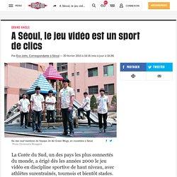 A Séoul, lejeu vidéo est un sport declics