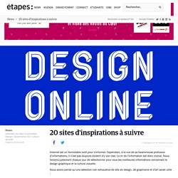 20 sites d'inspirations à suivre