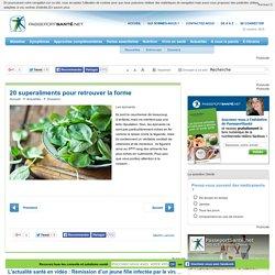 20 superaliments : les épinards
