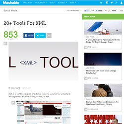 20+ Tools For XML