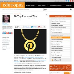 20 Top Pinterest Tips
