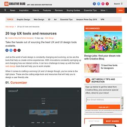 20 top UX tools and resources