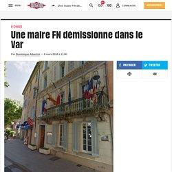 Une maire FN démissionne dans le Var