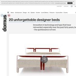 20 unforgettable designer beds
