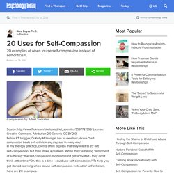 20 Uses for Self-Compassion