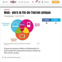 Web: vers la fin de l'écran unique