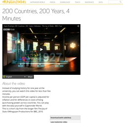 200 Countries, 200 Years, 4 Minutes