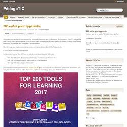 200 outils pour apprendre