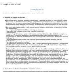 TPE en 2000/2001 du sous thème à la problématique 09/2000