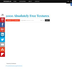 350+ Free Textures - Web Design Blog - DesignM.ag - StumbleUpon