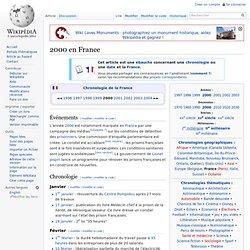 2000 en France