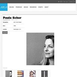 2001 AIGA Medalist: Paula Scher