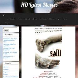 Saw (2004) 325MB Dual Audio Movie