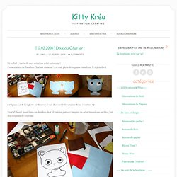 [ 17.02.2008 ] Doudou Chat 1er ! — Kitty Kréa