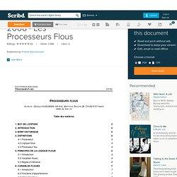 2008 - Les Processeurs Flous
