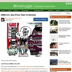 2008 U.S. Gas Price Year in Review : TreeHugger