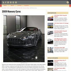 2009 Mansory Cyrus - Car Models, News, Pictures, Price and Specification - StumbleUpon